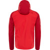 The North Face Stratos Jas Heren grijs/rood
